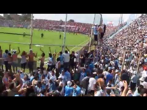"""""""[HD] LA INIMITABLE - CELESTE Y BLANCO HASTA MORIR"""" Barra: La Inimitable • Club: Atlético Tucumán"""