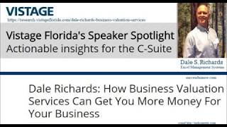 Vistage Florida's Speaker Spotlight - Dale S Richards