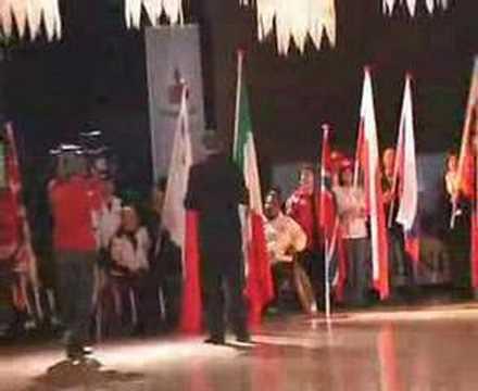 Cuijk 2008 : vlaggenparade Holland Dans Spektakel