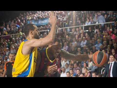 Highlights: FC Barcelona-Maccabi Electra Tel Aviv