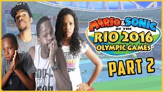 THE MOST ANNOYING PEOPLE TO LOSE TO!! - Family Beatdown 12 Pt.3 I Mario & Sonic Olympics Gameplay