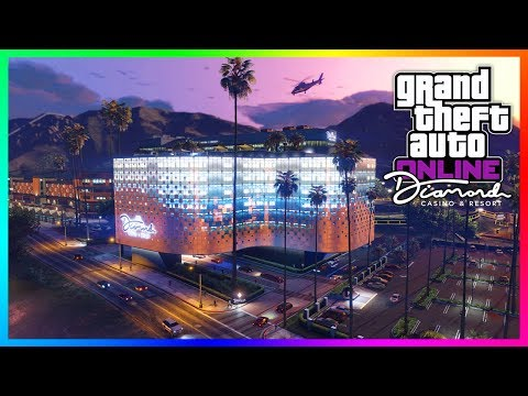 GTA 5 Online The Diamond Casino & Resort DLC Update - GRAND OPENING! Release Date, Trailer & MORE!