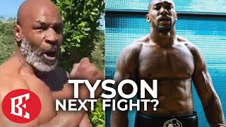 "Mike Tyson MIND BLOWING AJ Fight CONFESSION ""I WOULD LOVE TO DO THAT!"" 4 Charity"