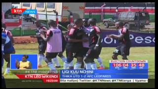 Ulinzi stars yacharaza Mathare United kwenye mechi ya ligi kuu ya kandanda