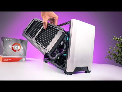 Building a Mini 16-Core Beast! Ncase M1 + R9 3950X