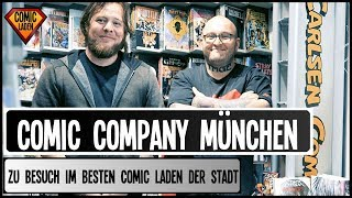 COMIC COMPANY MÜNCHEN – So Kauft Man Comics Mit Style! [Beyond The Panel]