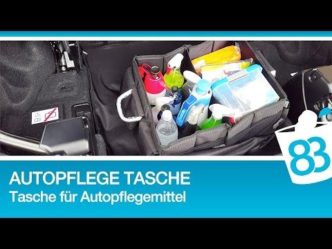 Autopflege Tasche - Pflegetasche für Fahrzeugpflegemittel - Tasche für Autopflegemittel - 83metoo
