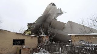 Kyrgyzstan | plane crash lands in residential area; 32 killed