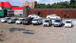Выгрузка 7 автомобилей Токидоки 7 июля 2016 г