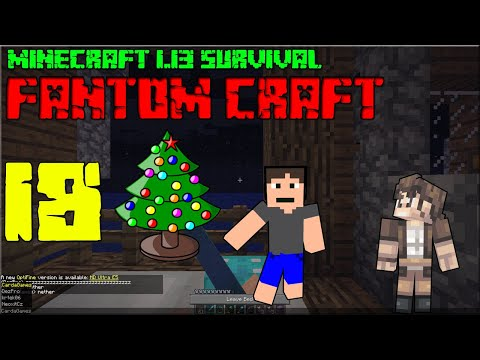 VÁNOČNÍ SPECIÁL S DÁRKY ! Minecraft survival 1.13.2! #18 |FANTOM CRAFT| /wNeoxitCz #VÁNOCE
