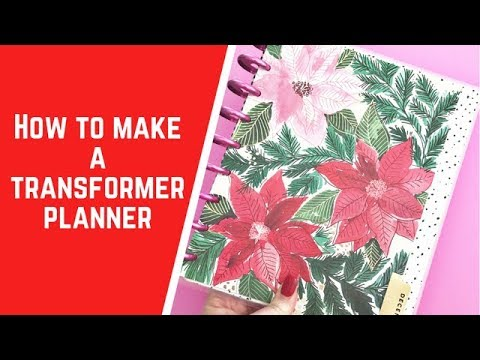 Download How to make a TRANSFORMER Planner Mp4 HD Video and MP3