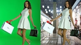 Fashion Photography workshop - Tips how-to make GREAT model photos on Green Screen Studio Chroma key