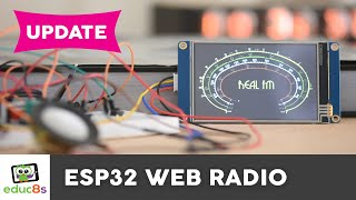 ESP32 Internet Radio Update