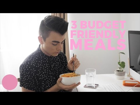 Video 3 Cheap Easy Meals for Broke Students