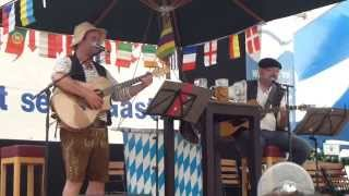 preview picture of video 'Jockel & Schurle in Aktion beim Wasserburger Frühlingsfest'