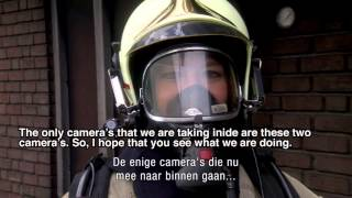 Zepcam T1 Live fire fighter use