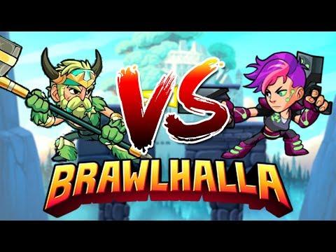 [BRAWLHALLA] TALIRAZ VS KITISIAS | Qui va gagner ?