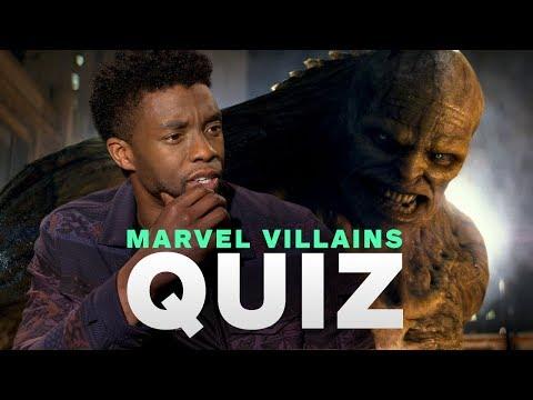 , title : 'Marvel's Avengers: Infinity War Cast Take the Ultimate MCU Villains Quiz'