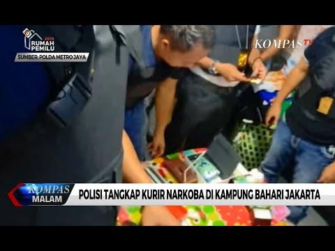 Polisi Tangkap Bandar Narkoba di Kompleks Permata