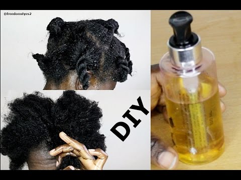 Video Do It Yoursef Hot Oil Treatment On Natural Hair