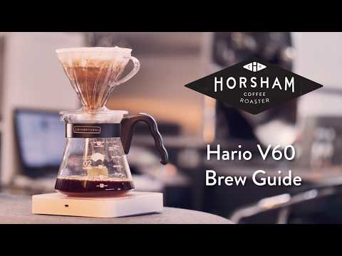 Hario V60 Coffee Brew Guide