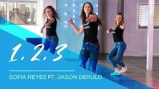 1, 2, 3   Sofia Reyes Ft Jason Derulo   Easy Fitness Dance Video   Choreography