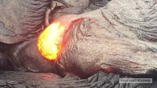 Touching the Lava!