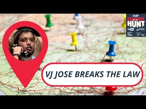 VJ Jose breaks the law | Comedy Hunt