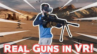 SHOOTING REAL GUNS IN VR - H3 VR Quick Look (Oculus Rift + Touch)