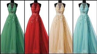 Gorgeous Fabulous And Elegant Unique Lace Tulle Long Prom Dress/Evening Gown Dress Design
