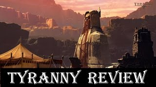 Tyranny review - best RPG of 2016