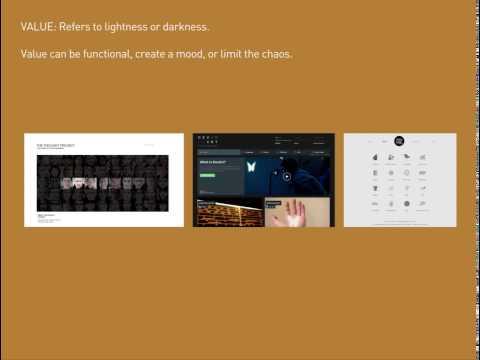 web design 1: DESIGN ELEMENTS