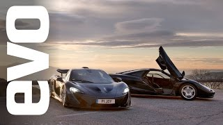 McLaren P1 vs McLaren F1 | evo REVIEW