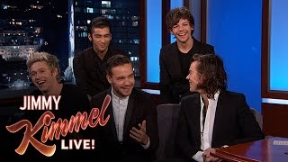 "Jimmy Kimmel Asks One Direction ""Who is Most Likely To...?"""