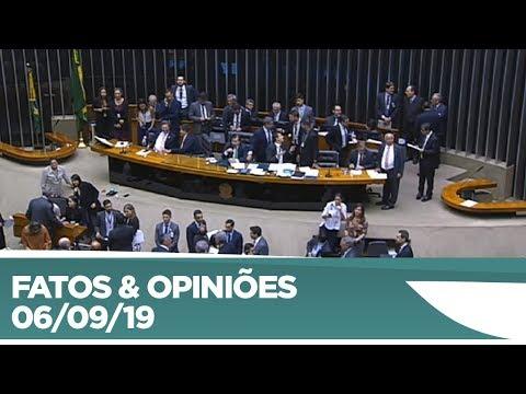 Câmara aprova projeto que altera regras eleitorais; texto vai ao Senado - 06/09/19