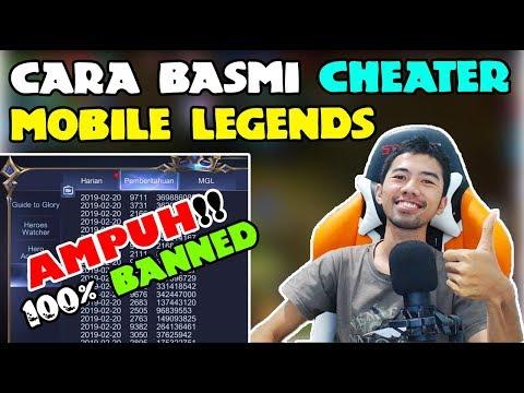 cara hack lag mobile legend