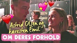 Astrid Olsen og Emil: Det faldt vi for ved hinanden