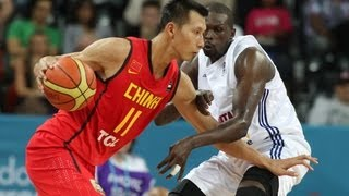 Olympic Basketball Tournament - Team China - dooclip.me