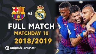 FC Barcelona vs Real Madrid (5-1) Matchday 10 2018/2019 - FULL MATCH