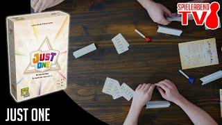 Let's Play • Just One • Spiel des Jahres 2019 • Anleitung