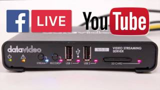 NVS-30 How to Tutorial Guide: Live Streaming on Facebook and YouTube