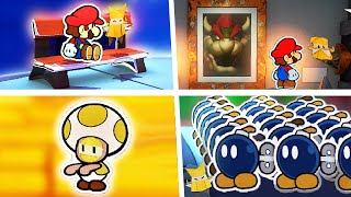 Olivia Cute, Funny & Most Embarrassing Moments in Paper Mario The Origami King (All Cutscenes)
