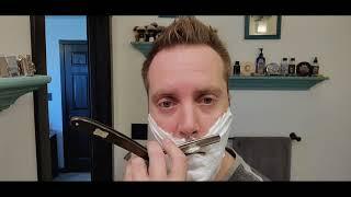 "#tabac #dovo #straightrazorshave Tabac shave stick, Dovo ""The Astrale"" straight razor."