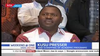 KUSU issues position on Government restructuring of Universities