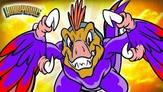 Velociraptor Dinosaurs | Dinosaur Songs for Kids from Dinostory NEW VIDEO by Howdytoons | S2E04