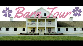 Barn Tour // 5 star Boarding and Training Facility