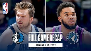 Full Game Recap: Mavericks vs Timberwolves | Luka Doncic Clutch 29 Point Performance