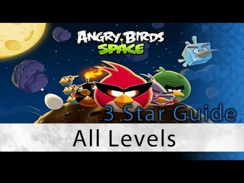Angry Birds Space - 3 Star Walkthrough All Levels (Pig Bang, Cold Cuts, Danger Zone, Eggstroids) Mp3