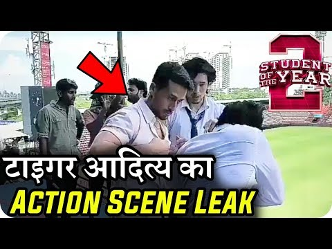 Student of the Year 2 Tiger Shroff Fight Scene Leaked With Aditya Seal