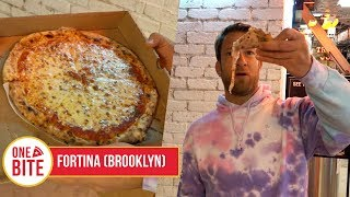 Barstool Pizza Review - Fortina (Brooklyn) Bonus Hard Times Sundaes Burger